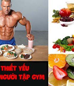 Vitamin và khoáng chất – Sản phẩm bổ sung cho người tập Gym