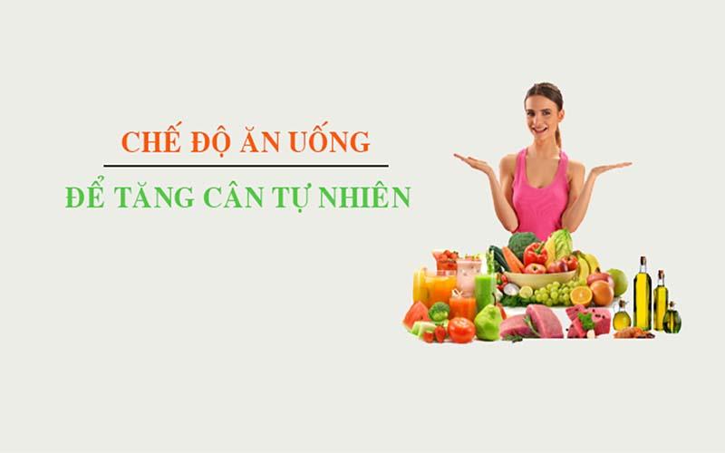 Cách ăn uống để tăng cân tự nhiên