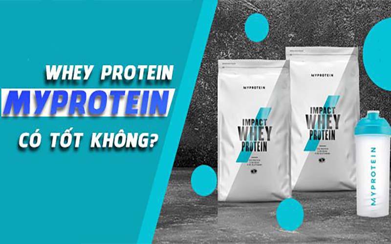 Myprotein Impact Whey Isolate có uy tín không