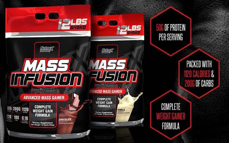Mass Infusion của Nutrex