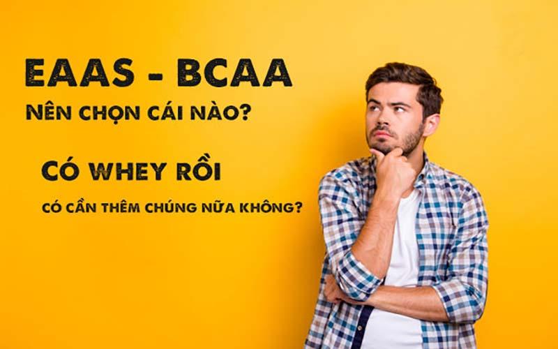 EAA là gì? Nên dùng EAA hay BCAA có lợi hơn?