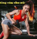 Các bài tập Gym tăng cân cho nữ hiệu quả