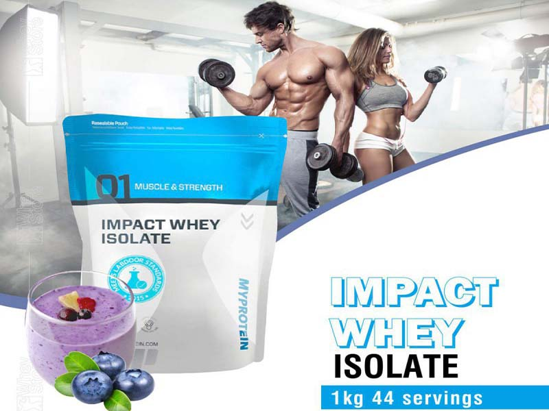Pha Impact Whey Isolate đúng cách