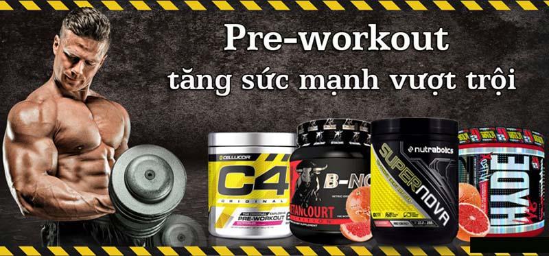 Sản phẩm Pre Workout
