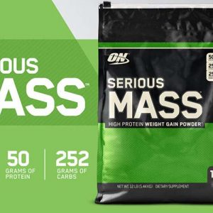 Serious Mass Gainer 12Lbs