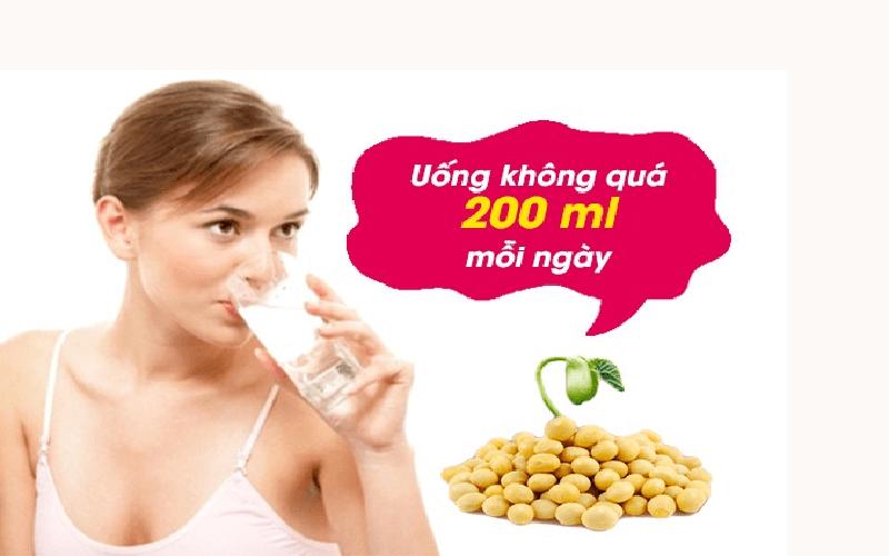 Sử dụng sữa đậu nành hiệu quả