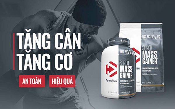 Super Mass Gainer của Dymatize