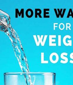 Uống nước nhiều có mập không