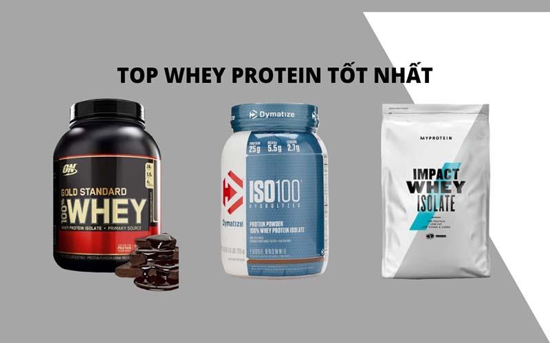 Whey Protein Isolate đáng mua nhất.