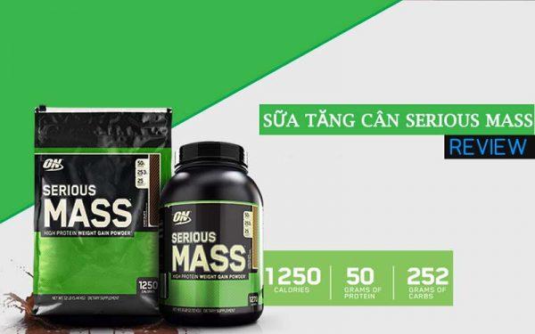 Các chất dinh dưỡng có trong Serious Mass
