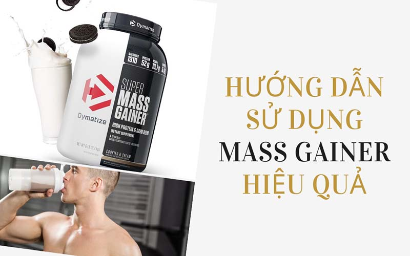 Cách pha Super Mass Gainer