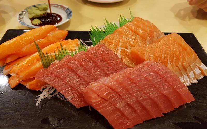 Thực phẩm cá hồi, cá ngừ